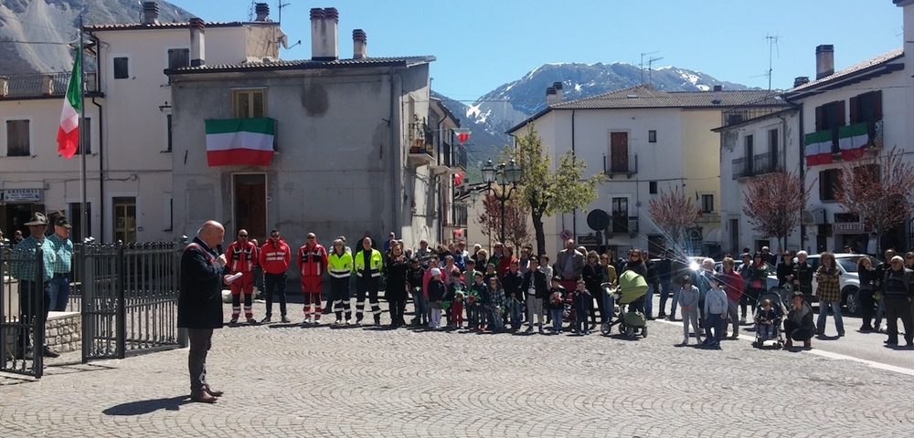 Campo di Giove commemorated the 72nd anniversary of the Liberation