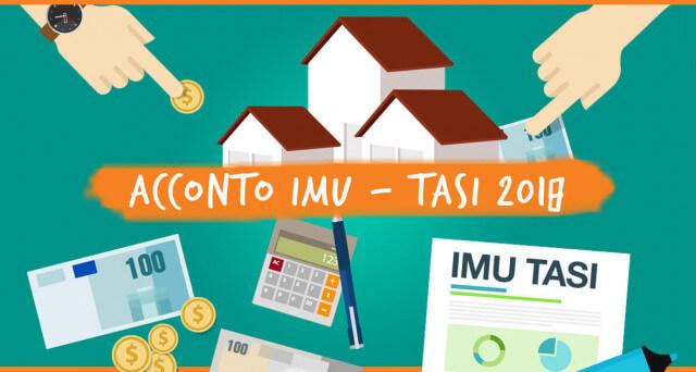 COMUNICAZIONE - Versamento acconto IMU e TASI 2018